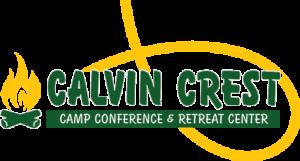 camp calvin crest logo