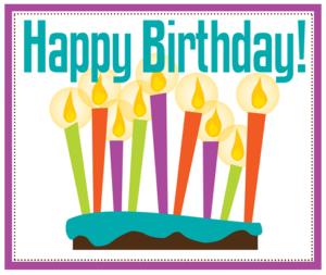 new & events birthdays